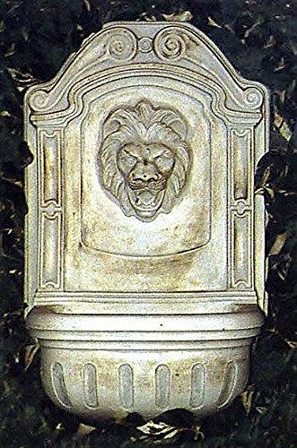 pompidu-living Wandbrunnen, Zierbrunnen, Springbrunnen Farbe Terracotta