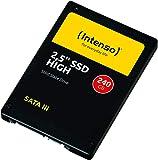 Intenso High Performance interne SSD 240 GB (6,3 cm (2,5 Zoll), SATA III, 500 MB/Sekunden) schwarz