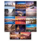 Dresden Postkarten | 14 sehr hochwertige Dresden Postkarten mit einzigartigen Bildern und Soft-Feel Kaschierung auf 300g Bilderdruckpapier matt direkt vom Fotografen DDpix.de