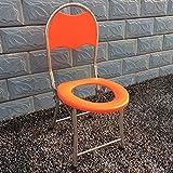 Ali De acero inoxidable plegable portátil embarazada sentada silla anciano persona discapacitada móvil asiento de inodoro silla de inodoro
