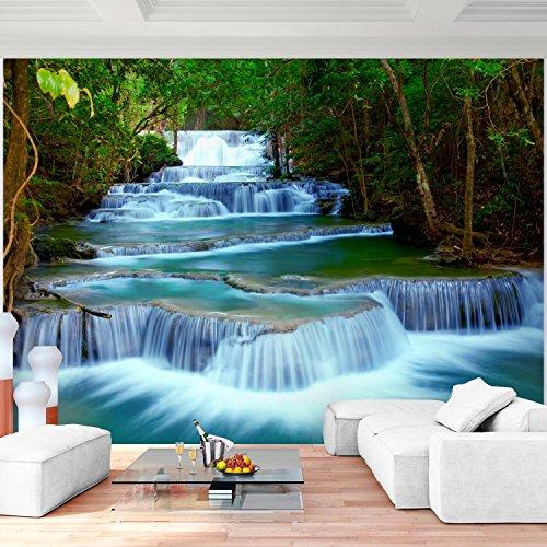 Fototapete Wasserfall 352 X 250 Cm Vlies Wand Tapete Wohnzimmer Schlafzimmer  Büro Flur Dekoration Wandbilder XXL Moderne Wanddeko   100% MADE IN GERMANY  ...