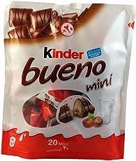 Kinder Bueno Mini Milk Chocolate with Hazelnut 20 Minis Packet, 108g