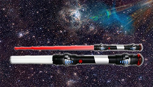 htschwert Star Wars 104cm + rotes Licht + Sound + Vibration Neu! (Luke Skywalker Kostüm The Force Awakens)