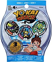 3 Random medals in an unopened blind bag for your Yokai watch