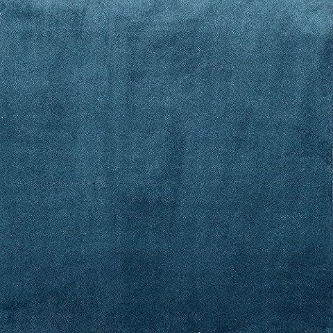 Mat en velours tout, Polyester, bleu pétrole, Bed Runner (50cm x 240cm)