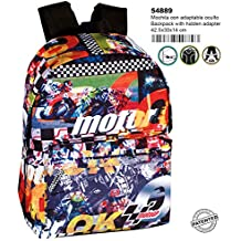 Montichelvo Montichelvo Backpack A.O. MT GP Clinch Bolsa Escolar, 43 cm, (Multicolour)
