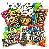 Gran Cesta Americana M&M | Chocolate y Caramelo | Golosinas para Navidad Reyes o para regalo | Caja de M&Ms caramelos y Chucherias Americanas