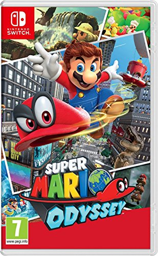 Super Mario Odyssey (precio: 45,00€)