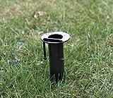 Erdspieß für Gartenfackel-Pipeline