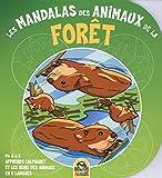 Les mandalas des animaux de la forêt : De A à Z apprends l'alphabet et les noms des animaux en 5 langues...
