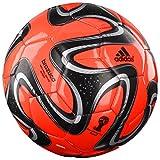 adidas Fußball Brazuca Glider (Größe / Farbe: 5 - orange/schwarz)