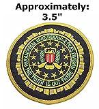 X-Files Série télévisée Paranormal Investigator Division Logo Thème espace et UFO ventilateurs U-sky brodée patchs à coudre ou thermocollant Patch par Athena marques