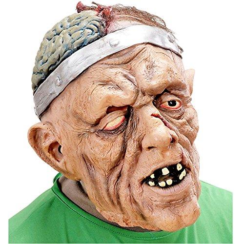 Widmann 8314B Maske Gehirnchirurg mit Haar, One Size