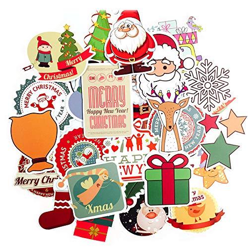 nachten Aufkleber Cartoons Für Auto Laptop Laptop Showcase Cookies Aufkleber Syd Sings Dekoration Neujahr Geschenke ()