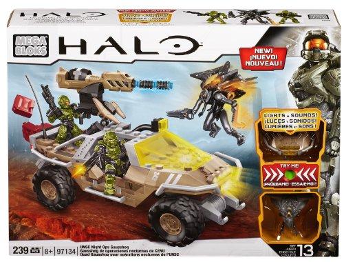 Mega Bloks Halo 97134 Vehículo Gausshog