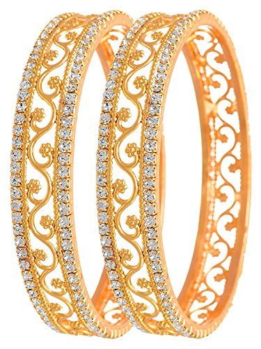 d01bd04732d5d YouBella Gold Plated Bangles For Women And Girls (2.4)