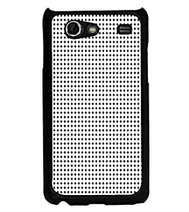ifasho Modern Art Design animated cloth Pattern of small star Back Case Cover for Samsung Galaxy S Advance i9070