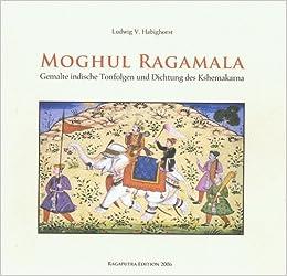Moghul Ragamala Gemalte Indische Tonfolgen Und Dichtung Des
