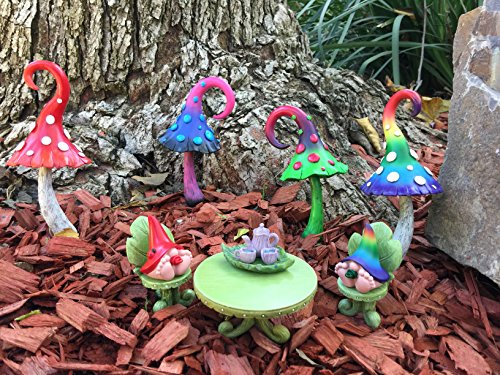 Enchanted Miniature Mushroom For A Fairy Garden And