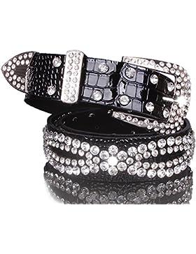 Señoras El Diamante Cinturón,Elegante Salvaje Distribución Jeans Cinturón
