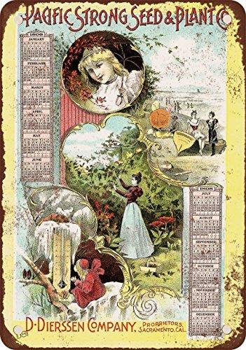 1898-pacific-forte-sementi-e-piante-calendario-stile-vintage-riproduzione-in-metallo-tin-sign-203-x-