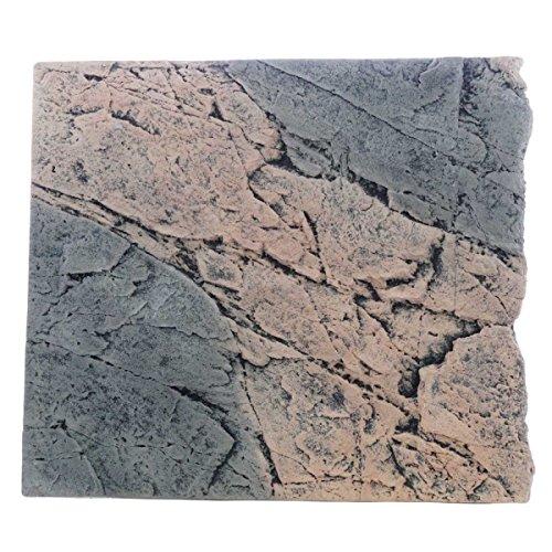 Back to Nature Basalt/Gneiss 50 Slimline Rückwand H: 45 cm Größe Modul 50B (B50xH45cm)