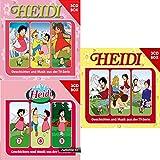 Heidi - Hörspiel Box 1+2+3 im Set - Deutsche Originalware [9 CDs]