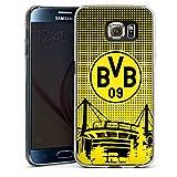 DeinDesign Samsung Galaxy S6 Hülle Case Handyhülle BVB Muster Borussia Dortmund