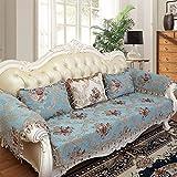 MEILI Meer mit Vier Jahreszeiten-Stoff Sofa-Kissen, 1, 90 * 90