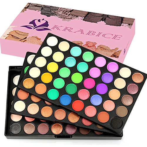 2017 Neue Lidschatten Augen Schatten Palette Make-up Kit Set Make Up Professional Box, KRABICE Ultra Flawless 120 Farbe Mini Lidschatten (Make Kits Große Up)