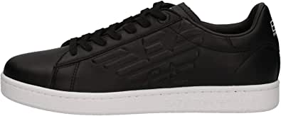 Emporio Armani X8X001 Sneakers con Lacci in Ecopelle da Uomo