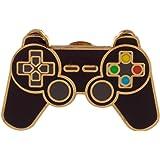Distintivo di Pin dello smalto di progettazione del controller di gioco della novità, 2x3x1, multi