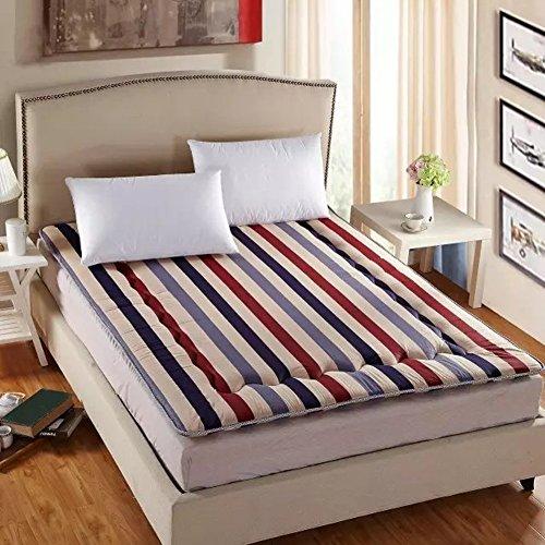 Baumwolle Farbe Quadratische Tatami-matten,Falten Matratze Matratze Mat ist .-Nackte Ehe 180x200cm(71x79inch) (Baumwoll-polyester-futon-matratze)