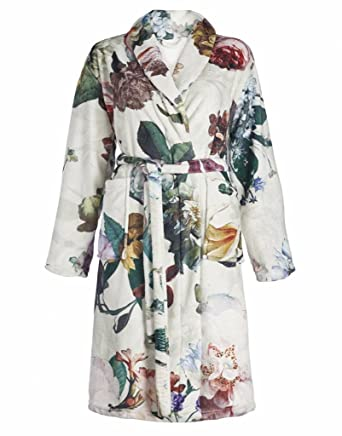 Essenza Women\'s Floral Dressing Gown: Amazon.co.uk: Clothing