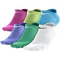 NIKE 6Ppk Girls non-cush No Show Socks for Girls
