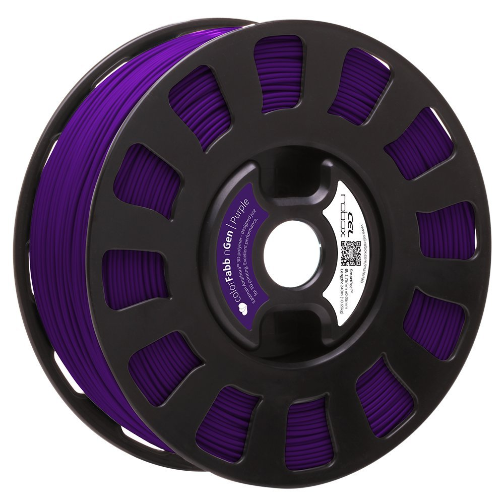 Robox Rbx-pet-ngpp1 Smartreel Colorfabb Ngen Filament, 1.75 mm, Violet