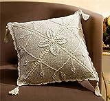Kissenhülle im Landhausstil Landhaus Stil, beige Größe 40x40 cm