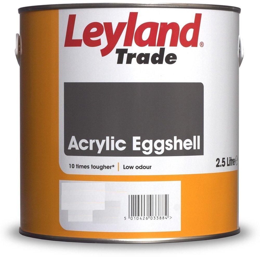 Leyland paints colour chart - 2 5ltr Leyland Paint Acrylic Eggshell Yellow Range Happy Daze Amazon Co Uk Diy Tools