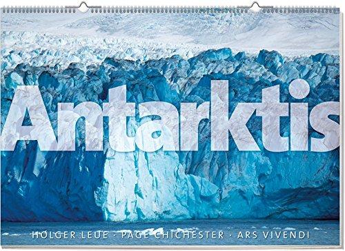 Monumentalkalender Antarktis, immerwährend. Vierfarbig, Format 100 x 70 cm