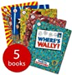 Where's Wally Books: Where's Wally / Where's Wally Now / Wheres Wally the Fantastic Journey / Wheres Wally the Wonder Book / Wheres Wally in Hollywood