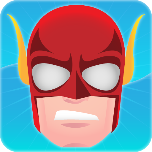 Maske Kostüm Held - Superhelden Spiele