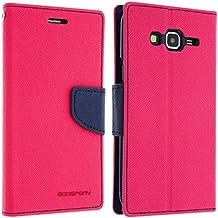 Avizar 'Custodia Portafoglio Fancy Goospery per Samsung Galaxy J5–Rosa/Blu Notte–Mercury