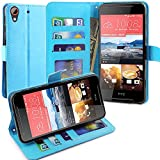 HTC Desire 628 Hülle, LK Luxus PU Leder Brieftasche Flip