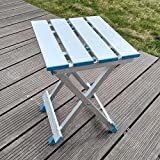 GAOJIAN Tabourets pliants en plein air Multi-fonctionnels Adult Beach Leisure Supplies Tabouret de pêche en banc Aluminium Portable