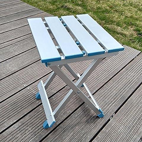 GAOJIAN Outdoor Falten Hocker Multi Functional Adult Beach Freizeit Supplies Bank Fischen Hocker Aluminium tragbar