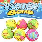 Unbekannt Wasserbomben Wasserball Set 6tlg Spielball Ball ca.5cm Splash Strandball