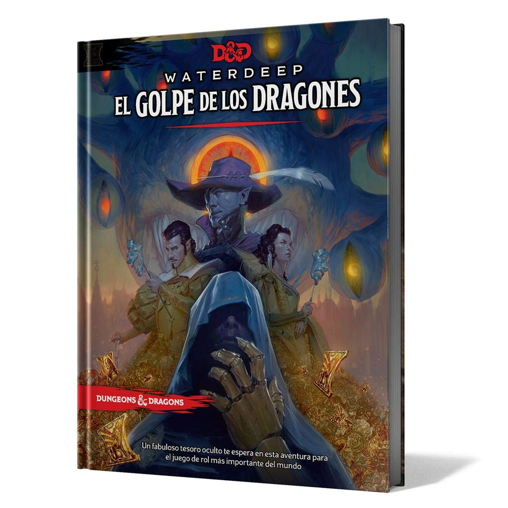 Dungeons & Dragons- Golpe de los Dragones, Color (EEWCDD08)