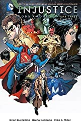 Injustice: Gods Among Us Year Three Vol. 2 by Brian Buccellato (2016-05-03)