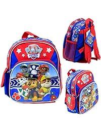 """Nickelodeon Paw Patrol Kids 10"""" Mini School Backpack Book Bag Licensed New"""