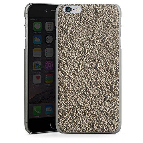Apple iPhone X Silikon Hülle Case Schutzhülle Beton Wand Muster Struktur Hard Case anthrazit-klar